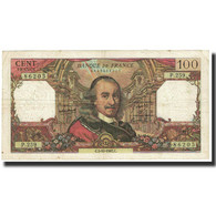 France, 100 Francs, Corneille, 1967, 1967-10-05, TB+, Fayette:65.18, KM:149c - 1962-1997 ''Francs''