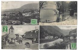 SUISSE - Canton De NEUCHÂTEL - Lot De 17 CPA - 1905 à 1909 - Même Destinataire - NE Neuchâtel