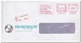 Zwammerdam 1986, Aangetekende Brief, Van Den Berg Bv, Kabels-buizen-zinkers - Period 1980-... (Beatrix)