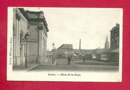 C.P.  Leuze-en-Hainaut  =  Place  De La GARE - Leuze-en-Hainaut