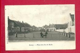 C.P.  Leuze-en-Hainaut  =  Place   Du  Jeu  De  Balle - Leuze-en-Hainaut