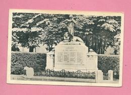 C.P.  Leuze-en-Hainaut  =   Monument  1914-1918 - Leuze-en-Hainaut