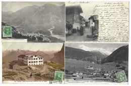 SUISSE - Canton Du VALAIS - Lot De 14 CPA - 1902 à 1909 - Même Destinataire - VS Valais