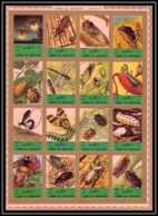 0124/ Umm Al Qiwain ** MNH Michel N° 1338 / 1353 Insectes (insects) Non Dentelé ** (imperforate) - Umm Al-Qiwain