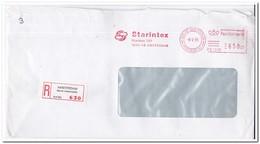 Amsterdam ( Bos En Lommerplein ) 1985, Aangetekende Brief, Starintex - Period 1980-... (Beatrix)