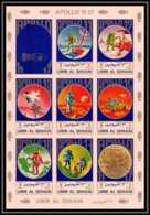 0133/ Umm Al Qiwain ** MNH Michel N° 922 / 929 Apollo 11 - 17 Espace (space) Non Dentelé ** (imperforate) - Umm Al-Qiwain
