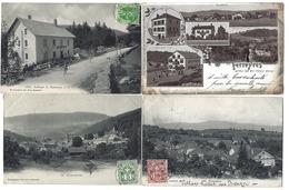 SUISSE - Canton De VAUD - Lot De 18 CPA - 1901 à 1909 - Même Destinataire - VD Vaud