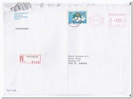 's-Gravenhage 1986, Aangetekende Brief Naar Boxmeer, Stork Screens Bv - Period 1980-... (Beatrix)