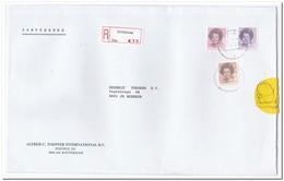 Schiedam 1986, Aangetekende Brief Naar Hendrix Voeders Boxmeer, Alfred C. Toepfer Int. Bv - Period 1980-... (Beatrix)