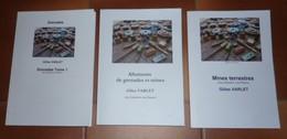 Lot De 3 Livres De Doc Sur Les Grenades, Les Mines Et Les Allumeurs 1914-18, 1939-45, Autres Casques, Armes Neutralisées - Français