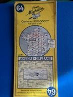 Michelin Angers-  Orléans - Cartes Routières