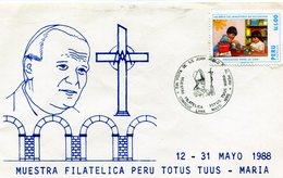 PERU 150 AÑOS DEL MINISTERIO DE EDUCACION 2da VISITA DE SAN JUAN PABLO II AL PERU - NTVG. - Cristianismo