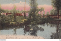 CPA (41)  CELLETTES.  Vue Sur Le Faubourg Du Pont. ...D043 - Francia