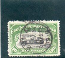 CONGO BELGE 1908 O - Congo Belge