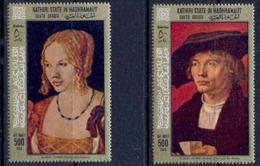 Aden - 1019a Kathiri State Of Seiyun - N° 218/219 DURER Tableau (tableaux Painting) Cote 18 Euros - Non Classés