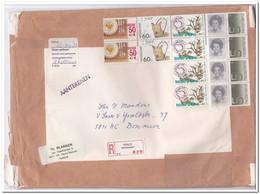 Venlo ( Kloosterstraat ) 1985, Aangetekende Brief Naar Boxmeer Plaatfout 1323 PM 8 - Period 1980-... (Beatrix)