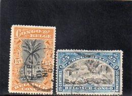 CONGO BELGE 1910 O - Congo Belge