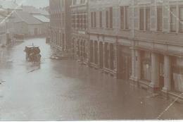 Düdelingen - Überschwemmung 26-27 Feb 1910 (Fotokarte) - Dudelange