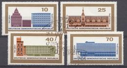 DDR 1965 Mi.nr. 1126-1129 Stadt Leipzig  OBLITÉRÉS-USED-GEBRUIKT - [6] République Démocratique