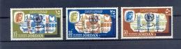 Jordan 1966 - Anti-Tuberculosio Campaign - Stamps 3v Complete Set - MNH**- Excellent Quality - Jordanien