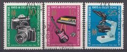 DDR 1965 Mi.nr. 1130-1132 Leipziger Herbstmesse  OBLITÉRÉS-USED-GEBRUIKT - [6] République Démocratique