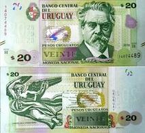URUGUAY 20 Pesos 2018 P New (93 B) UNC - Uruguay