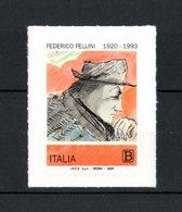 ITALIA :  Federico  Fellini  - 1 Val. Da  1,10 €.  MNH**   Del   20.01.2020 - 2011-...: Nieuw/plakker