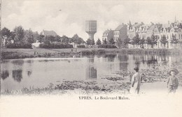 Ieper, Ypres, Le Boulevard Malou (pk66697) - Ieper