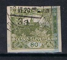 Tsjechoslowakije Y/T 19 (0) - Oblitérés