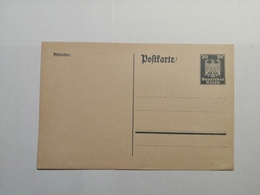 Deutsches Reich Postkarte - 1900 – 1949