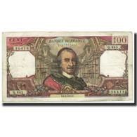 France, 100 Francs, Corneille, 1975, 1975-02-06, TB+, Fayette:65.48, KM:149e - 1962-1997 ''Francs''