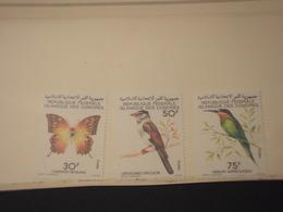 COMORES - 1979 FARALLE/UCCELLI 3 VALORI - NUOVI(++) - Isole Comore (1975-...)