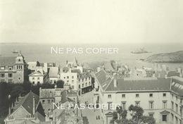 SAINT-MALO 1932 Vue Des Toits Ille-et-Vilaine 35 Bretagne 12 X 18 Cm - Lieux