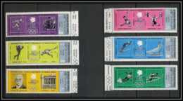 YAR (nord Yemen) - 3594/ N° 1301 / 1306 A SILVER ** MNH Jeux Olympiques Olympic Games - Zomer 1968: Mexico-City