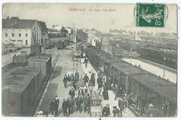 Luneville La Gare Les Quais - Luneville