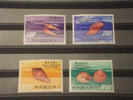 FORMOSA - 1971 CONCHIGLIE 4 VALORI - NUOVI(++) - Unused Stamps