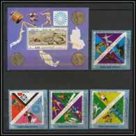 YAR (nord Yemen) - 3605/ N° 1498/1501 + BLOC N° 181 Jeux Olympiques (olympic Games) Gold Medalist France ** MNH - Zomer 1968: Mexico-City