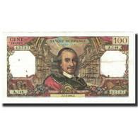France, 100 Francs, Corneille, 1966, 1966-04-07, TTB, Fayette:65.12, KM:149b - 1962-1997 ''Francs''