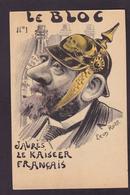 CPA JAURES Jean Satirique Caricature Politique Non Circulé Léon ROZE - Satiriques