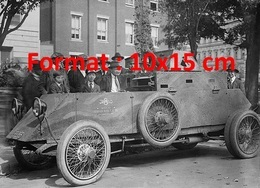 Reproduction D'une Photographie Ancienned'une Automobile Tank Blindé En 1917 - Repro's