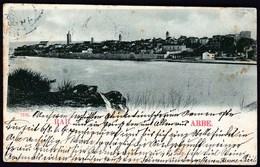 Croatia Austria Rab, Arbe 1900 / Panorama / Sent To Prague - Croatia
