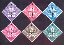 Jordan 1965 -  Space Fights - Stamps 6v Complete Set - MNH**- Excellent Quality - Jordanien