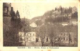 Larochette - Fels - Bleiche, Ruines Et Verlorenkost (Tannerie, 1926) - Larochette