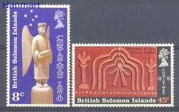 Solomon Islands 1970 Mi 199-200 MNH ( ZS7 SLI199-200 ) - Salomon (Iles 1978-...)