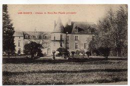 LES RICEYS -- Chateau De Ricey-Bas  (façade Principale )........à  Saisir - Les Riceys