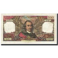 France, 100 Francs, Corneille, 1964, 1964-10-01, TB+, Fayette:65.04, KM:149a - 1962-1997 ''Francs''