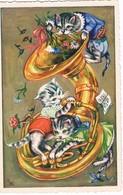 Chats Humanisé-dressed Cats -katzen - Poesjes - Gatto - Dressed Animals