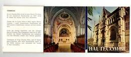 Carnet Avec Dépliant Accordéon De Photos Couleurs De Hautecombe - éditions D'Art Yvon - Autres