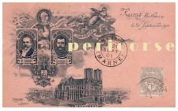 Nicolas II   Reims Betheny   Le 21 Septembre 1901 - Russie