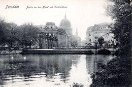 DE-BB: POTSDAM: Partie An Der Havel Mit Stadtschloss - Potsdam